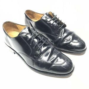 Cole Haan Split Toe Leather Oxford Dress Shoes
